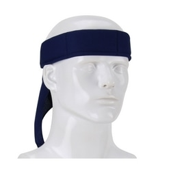 EZ-Cool Evap. Cooling Bandana, 1-2 Min. Activation, Lightweight, Navy