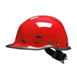 Pacific R5 Rescue, Red, Kevlar Shell, Ratchet, 3-Pt Chin Strap