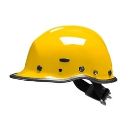 Pacific R5 Rescue, Yellow, Kevlar Shell, Ratchet, 3-Pt Chin Strap