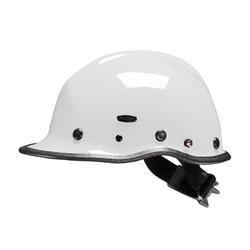 Pacific R5 Rescue, White, Kevlar Shell, Ratchet, 3-Pt Chin Strap