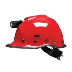 Pacific R5T Rescue w/ Light Holder, Red, Ratchet, 3-Pt Chin Strap
