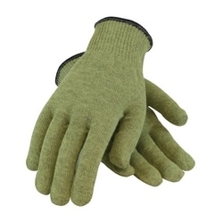 Kevlar ACP 10 Gauge Seamless Knit, M. Weight, Green, XL