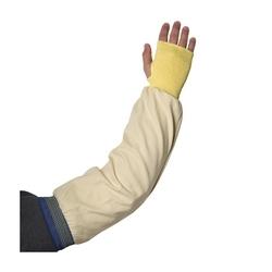 Kev/Cott Interlock Sleeve, 22-in, w/5 inch KW, TH, B/G Elast, ANSI Cut 1