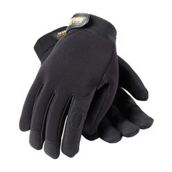 Professional Mechanic's Gloves, Black, Small