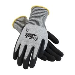 G-Tek CR, S&P PolyKor Blended Shell , Black Nitrile Coated Palm, EN5, XS