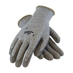 G-Tek CR, S&P PolyKor Shell, Gray. PU Coated Palm , EN3, 2XL