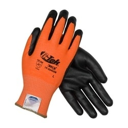 G-Tek 3GX w/HV Orange Dyneema Diamond, Black Foam Nitrile, EN5, XL