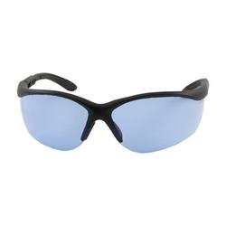 Hi-Voltage AC, Blue AS Lens, Black Adj Tmpls, Narrow Sizing