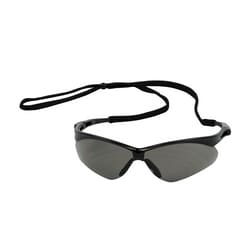 Anser, Gray Lens, AS, Black Frm, Rubber Tmpl Tips, Incl Neck Cord