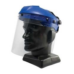 Safety Visor, Clear Poly, Univ Fit, .060, 9x15.5