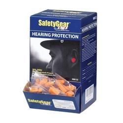 Economy Bullet, Uncorded, 32 dB NRR, Orange PU Foam, 200 Pair/Box