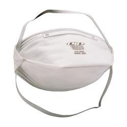 N95 Particulate Respirator, Flat Folded, Non-Latex Strap, 20/Box