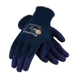 MaxiFlex Elite, 18G Blue Nylon Shell, MicroFoam Nitrile Coating, Medium