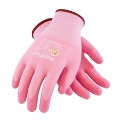 MaxiFlex Active, 15G Pink Nylon/ Yellow Shell, Pink Foam Nitrile, XL