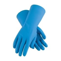 Assurance Unsupport Nitrile, Blue, 8 Mil, 13 Inch, Unlined, Diamond, XL