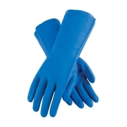 Assurance Unsupport Nitrile, Blue, 15 Mil, 13 Inch, Unlined, Diamond, Small