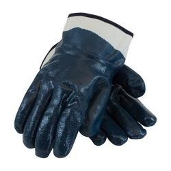 ArmorTuff, Jersey Liner, Blue, Nitrile Fully Coatd, Plasticized SC, XL