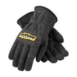 FR Treated Synthetic Leather Glove, Kevlar Lined, Reinforced Palm, 3XL