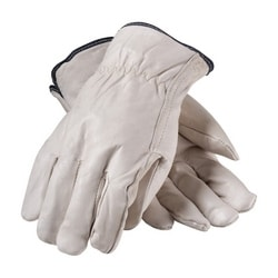 Top Grain Cowhide Drivers, Premium, White Thermal Lining, Straight Thumb, XL