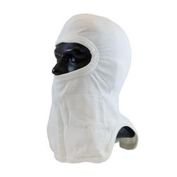 20% Nomex/80% Lenzing FR Full Face, White, Tri-Cut Design, NFPA 1971