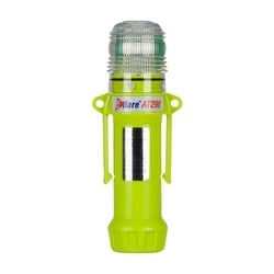 "White, Flashing or Steady-On 1-Color, 8 LED, Four ""AA"" Batteries"