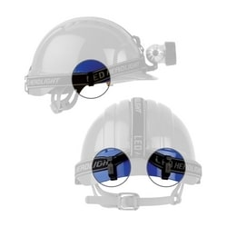 Clip Set for Lamp/Goggle Attachment Evolution 6100 Cap Style Hard Hats