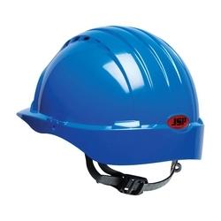 JSP Evolution 6131, Blue, 6-Pt Textile Suspension, Slip Ratchet, Class E