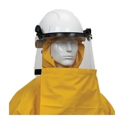 Hydroblast Rainsuit .35mm PVC/Poly, FR Treated, Hood, Shroud, Yellow, 6XL