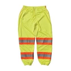 Class E Mesh Pant, 3 Pocket, Two Tone Tape, drawstring waist, Yellow, XL