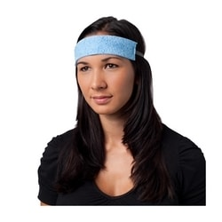 Cellulose Sponge Sweatband, Blue