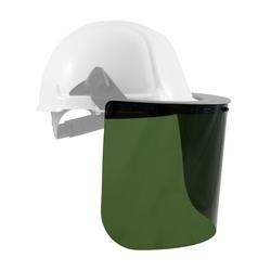 PETG Faceshield, Medium Green, Univ .40 x 8 x 15.5