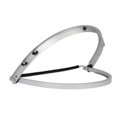 Aluminum Hard Hat Bracket For Faceshields, Full Brim Style