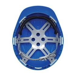 JSP Evolution 6121, Blue, 6-Pt Plastic Suspension, Slip Ratchet, Class E