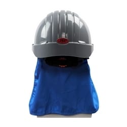 EZ Cool Evap. Cooling Hard Hat Pad with Neck Shade, Blue