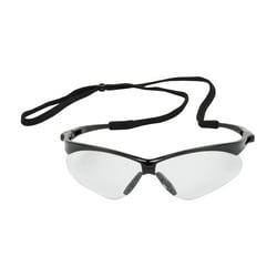 Anser, Clear Lens, AS, Black Frm, Rubber Tmpl Tips, Incl Neck Cord