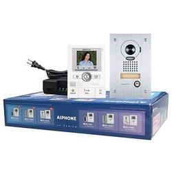 Video Intercom Box Set, Includes (1) JK-1MED Master Monitor, (1) PS-1820UL Power Supply, (1) JK-DA Flush Mount Door Station