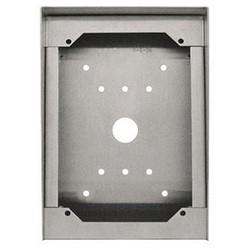 Surface de la Station de porte vidéo mm boîtier, boîtier en acier inoxydable de calibre 18