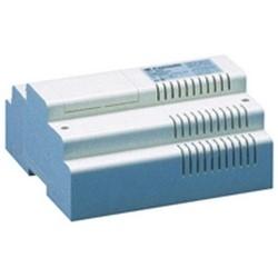 "Mixer Power Supply, 120 Volt AC, 1.4 Ampere, 50/60 Hertz, Wall Mount, 5.51"" Width x 2.03"" Depth x 4.13"" Height, With (8) DIN Module Box"