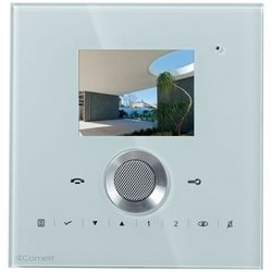 """Planux Lux, Wall Mount, 10-Button, 320 x 240 Resolution, 200 Milliampere, 3.5"""" Color Monitor, 6.3"""" Width x 1.5"""" Depth x 6.57"""" Height, White"""