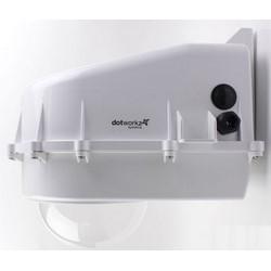 "Camera Enclosure, Vandal Proof, IP68, 115 Volt AC, 14.94"" Length x 10.69"" Width x 13.37"" Height, Polycarbonate Thermal Plastic"