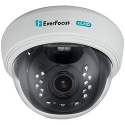 Dome Camera, IR, Full HD, PAL/NTSC, DWDR, Day/Night, Indoor, 1920 x 1080 Resolution, F1.4 DC Iris/Varifocal 2.8 to 12 MM Lens, 24 Volt AC/12 Volt DC 3.5/3.7 Watt, White