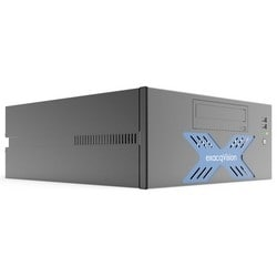 Network Video Recorder, Desktop, Hybrid, 8 Analog Input, 64 IP Camera, H.264/MJPEG, PAL/NTSC, 250 Mbps Windows/300 Mbps Linux Storage Rate, 120/240 Volt AC, 170 Watt, 2 TB