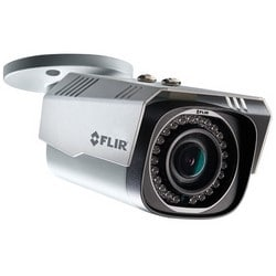 Bullet Camera, 4.4x Optical/10x Digital Zoom, Day/Night, Indoor/Outdoor, H.264/MJPEG, 3 MP HD, F1.4 Fixed Iris/Motorized Varifocal 2.7 to 12 MM Board Lens, 12 Volt DC, PoE