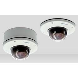 IP Camera, IR, Vandal-Proof, WDR, Day/Night, Outdoor, H.264/MJPEG, 1920 x 1080 Resolution, F1.2 Varifocal 3 to 9 MM Lens, 24 Volt AC/12 Volt DC 12 Watt, PoE