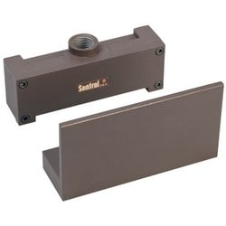 "Magnetic Contact, 30 Volt AC/DC, 0.25 Ampere, 3 Watt, 5/8"" Gap, 5.75"" Length x 1.5"" Depth x 0.813"" Height, SPDT, Brown, Die-Cast Aluminum, With Terminal"