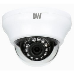IP Camera, IR, Dome, Indoor, H.264/MJPEG, 1080p Resolution, F2.0 Fixed 4 MM Lens, 12 Volt DC, PoE