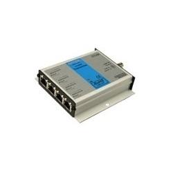 """Caméra IP sur prolongateur Coaxial, connecteur de RJ4 (45), Jack coaxial BNC, 100-TX Full Duplex Ethernet, 48 au 56 v DC, - 40 et 167 Deg F, 4"""" largeur x 4,9"""" profondeur x 1"""" hauteur"""