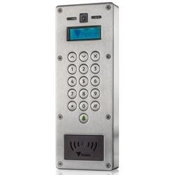 Video Intercom Vandal Resistant Panel, 2-Way Audio System, 125 Kilohertz, Full Color Camera System, Backlit LCD Display, IP55, 110 Width x 35 MM Depth x 300 MM Height