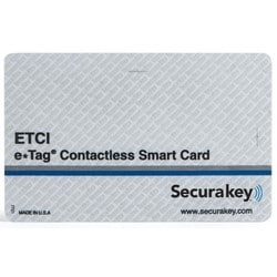 "Smart Card, Contactless, 0.037"" Thk, Glossy, For Card Printing"
