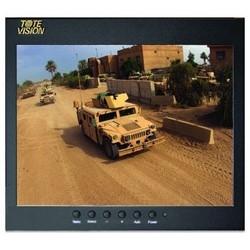 "LCD Monitor, 9.7"" HD, 1024 x 768 Resolution, 4:3 Aspect Ratio, 1000:1 Contrast Ratio, 12 Volt DC, 15 Watt, 8.8"" Width x 1.9"" Depth x 7.8"" Height"